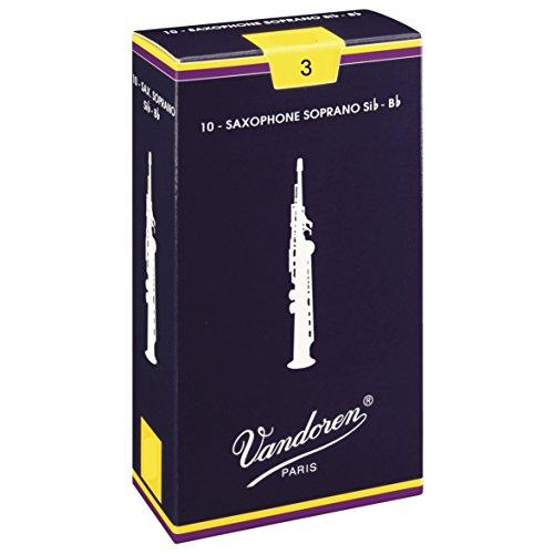 Vandoren SR203 Box 10 ringen Traditional 3 Sax Soprano
