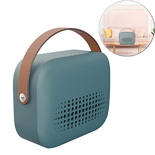 DASGF draagbare mini-kachel, PTC-keramiek, persoonlijke ventilatorkachel, 800 W, omvalbeveiliging, verwarming thuis, energiebesparend, klein