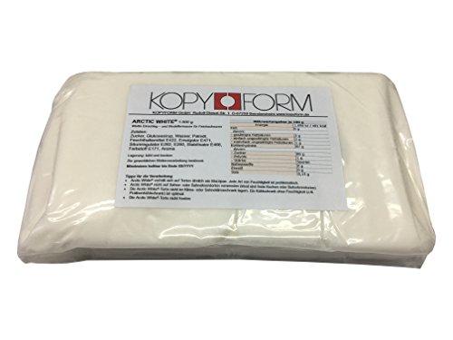 KOPYFORM Rollfondant Arctic White® 1kg, weiß