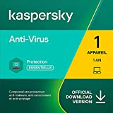 Kaspersky Anti-Virus 2021 | 1 Appareil | 1 An | Windows | Code d'activation – Envoi par Email