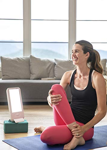 Verilux HappyLight VT20 Full-Size 10,000 Lux Bright White Light Therapy Lamp with 2 Interchangeable Lenses and 41 sq. in. Lens Size