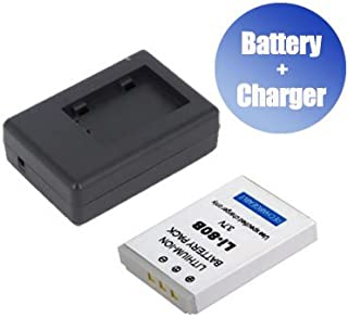 1400 mAh battpit/™ New 2X Digital Camera Battery 1x Charger Replacement for Fujifilm FinePix 4800Z