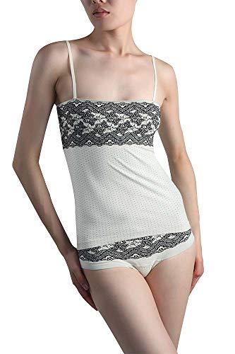 +MD Conjunto de Encaje de Sujetador súper cómodo para Mujer Sujetador y Bragas de lencería Diaria Sexy Bralette sin Costuras para Dormir para Mujeres y niñas Gris Claro-M