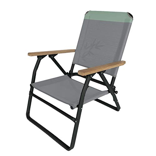Human Comfort Camping Klapp Stuhl Boust Falt Sessel Garten Armlehne Holz 115 kg