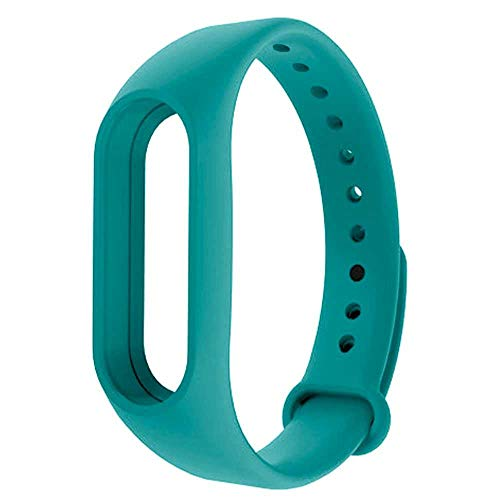 OcioDual Recambio TPU para Pulsera Xiaomi Mi Band 4 3 Smartwatch Correa Reloj Turquesa