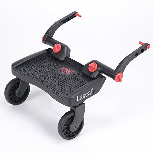 Lascal BuggyBoard MINI planche à roulettes Noir / Rouge
