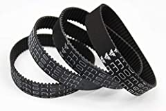 4 individual belts with ***50 mile*** risk-free warranty (must provide app mileage proof before installation and after. Visit our website www.momentum-boards.com for more details) Belts can last 200 to 500+ miles. Always re-tension your belt drive an...