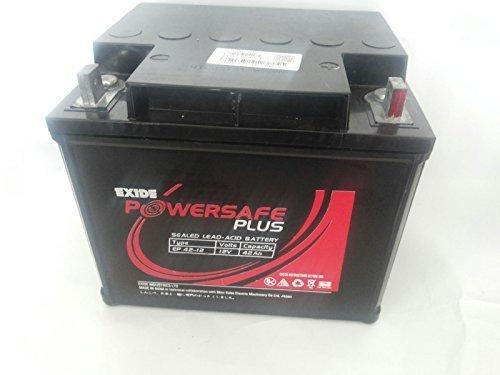 Exide 12v 42AH -UPS Solar PowerSafe Sealed Battery (Black)