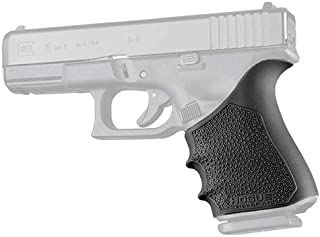 Hogue 17050 HandAll Beavertail Grip Sleeve, Glock 19 Gen 1-2-5, Black