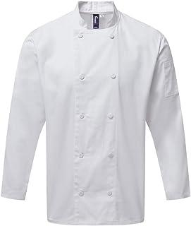 Premier Unisex Adults Chefs Coolchecker Long Sleeve Jacket
