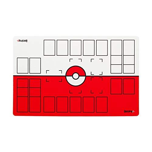 The Gaming Mat Company Tapis de Jeu GMC Deluxe à 2 Joueurs Compatible Pokemon Stadium