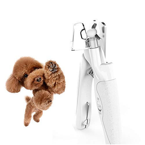 Dog Nail Clippers and Cat Claw Trimmer, Pet Nail Grinders with Led Avoid Over Cutting Nails, Clipper Nail Grooming Tools Best for Cats, Dogs and Other Medium & Small Pets