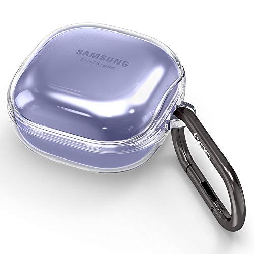 Spigen Ultra Hybrid Entwickelt für Galaxy Buds Live Hülle/Galaxy Buds Pro Hülle Cover - Klar