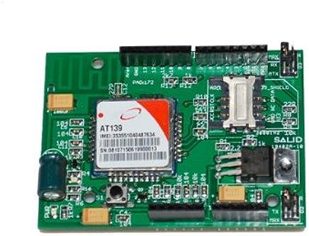 Amazon com: Quad-band GPRS/GSM Shield for Arduino