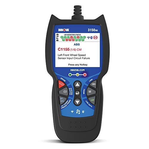 Innova 3150RS OBD2 Scanner / Car Code Reader with ABS, SRS, Live Data, and Service Light Reset