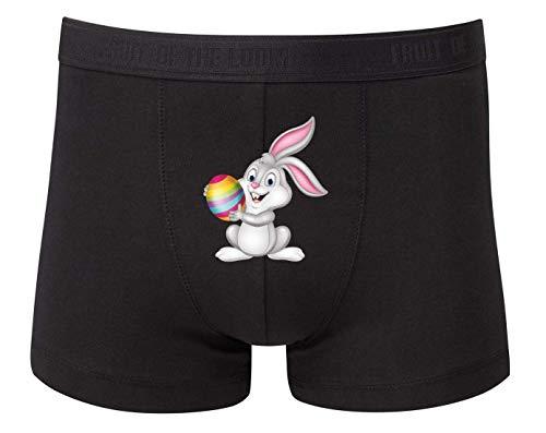 Boxershort - Osterhase Cartoon Ei Kaninchen - Unterhose für Herren und Männer