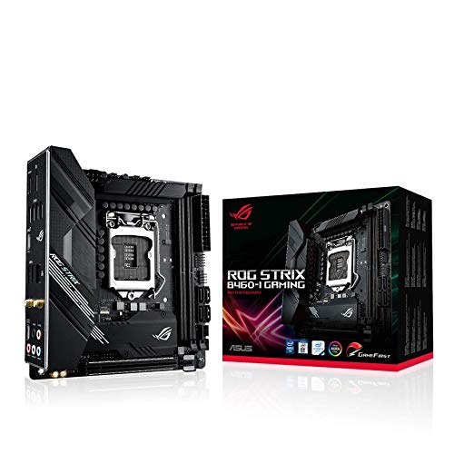 ASUS Intel B460 搭載 Socket 1200 対応 マザーボード ROG STRIX B460-I GAMING 【Mini ITX】