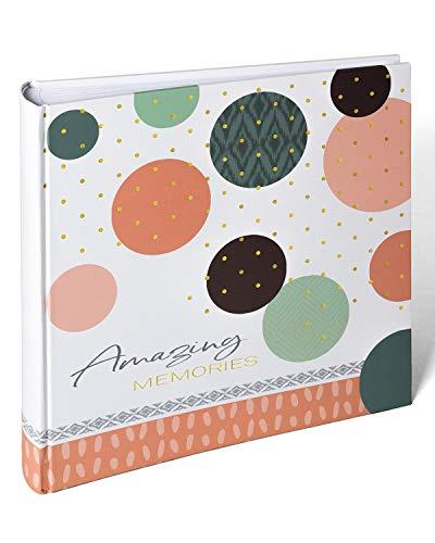 walther design MX-485-R Fotoalbum Amazing Memories, 30x30 cm, lachs