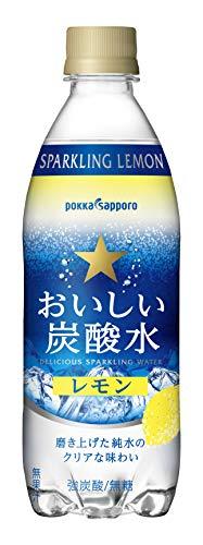 サッポロ おいしい炭酸水レモン 500ml×24本