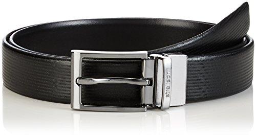 Strellson Premium Belt Ceinture, Noir-Schwarz (Black 10), 105 cm Homme