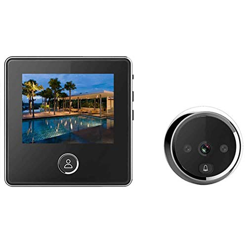 digitsea Video Door Viewer 1200mAh Build-in Lithium Battery Peephole viewer Build-in cyclic Storage...
