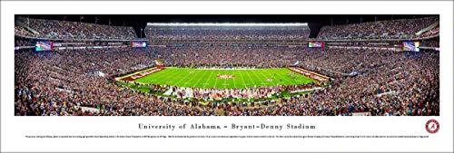 Blakeway Worldwide Panoramas, Inc. Alabama Football, Night Game - 40x13.5-inch Panoramic Poster