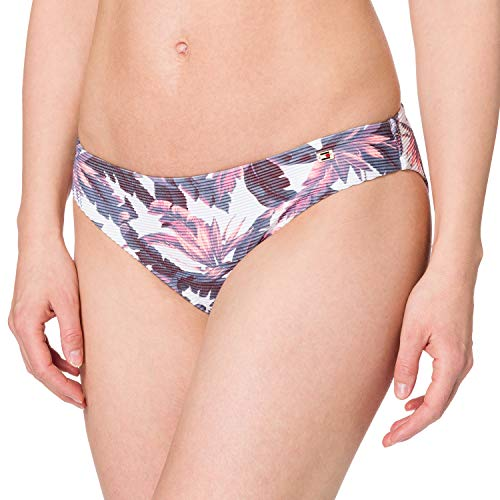 Tommy Hilfiger Damen Classic Bikini-Unterteile, Hilfiger Tropic Overshadow, L