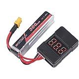Zoom IMG-2 makerfire 4pcs lipo battery checker