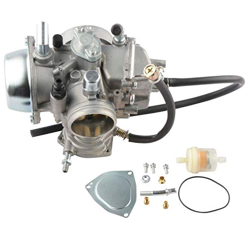 MOSTPLUS Carburetor Carb Compatible for YAMAHA RHINO 660 YXR660 2004 2005 2006 2007/GRIZZLY 2002-2008/GRIZZLY YFM660 2002-2008