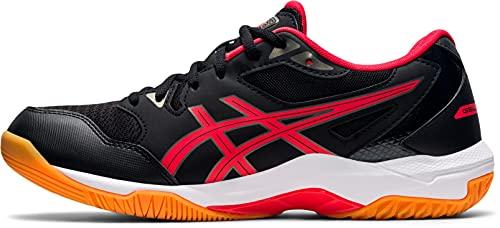 ASICS Herren Gel-Rocket 10 Volleyball-Schuh, Black/Electric Red, 43.5 EU