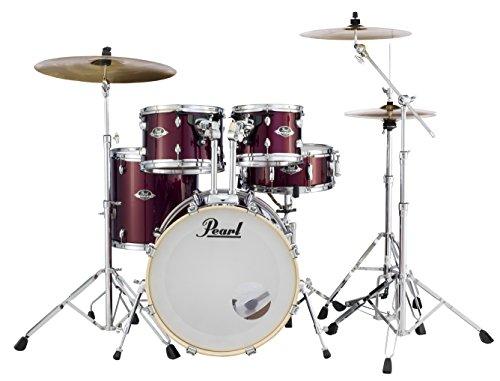 PEARL EXPLATZ 5-tlg. Schlagzeug-Set mit 830-Serie (Cymbals nicht im Lieferumfang enthalten) Burgunderrot EXX705N/C760