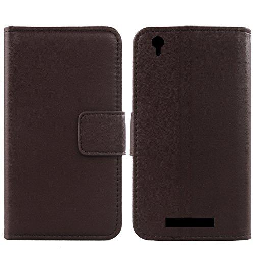 Gukas Design Echt Leder Tasche Für Archos Core 55 5.5