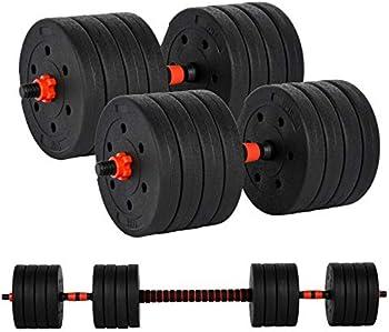 GN109 110lb Free Weights Adjustable Dumbbells Set