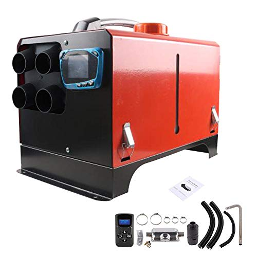 Why Choose 5KW 12V/24V Diesel Air Heater, Parking Fuel Air Heater,All in One Integration Four Holes,...