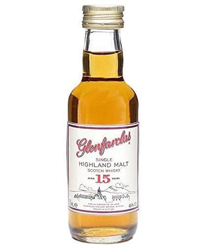 Glenfarclas 15 Jahre Single Malt Whisky 5 cl