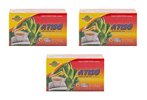 Pamai Pai® Artischocken Tee Dreierpack: 3 x 50g Artischockentee Atiso 75 Teebeutel