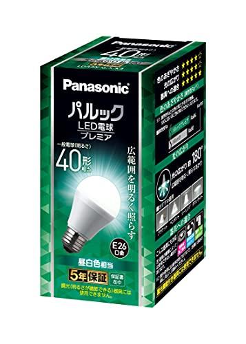 パルック LED電球 口金直径26mm 40W形相当 昼白色 シリカ電球同サイズ 断熱材施工器具対応 密閉型器具対応 屋外器具対応 パナソニック(Panasonic) LDA4NGSK4