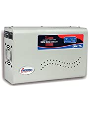 Microtek EM4170+ Automatic Voltage Stabilizer for AC up to 1.5 ton (170V-270V), Metallic Grey –Wall Mounted.