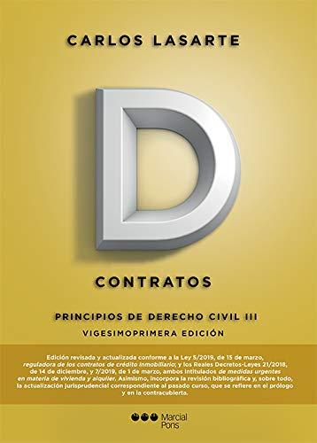 Principios de Derecho civil: Tomo III: Contratos (Manuales Universitarios)