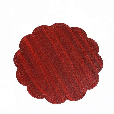lalala Weichuntersetzer Weichuntersetzer Tischset PVC rutschfestes Anti-Verbrühungs-Western-Tischset-Wärmedämmkissen 6-teiliges Set