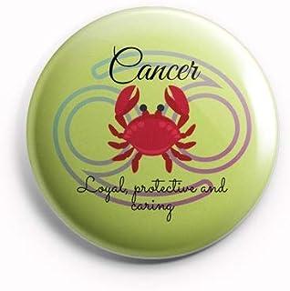 AVI Cancer Zodiac Sign with Traits Green MR80020624Regular Size Fridge Magnet 58mm