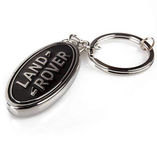 Land Rover New Genuine Oval Badge Schlüsselanhänger Key Ring (schwarz) 51ldkr981bka