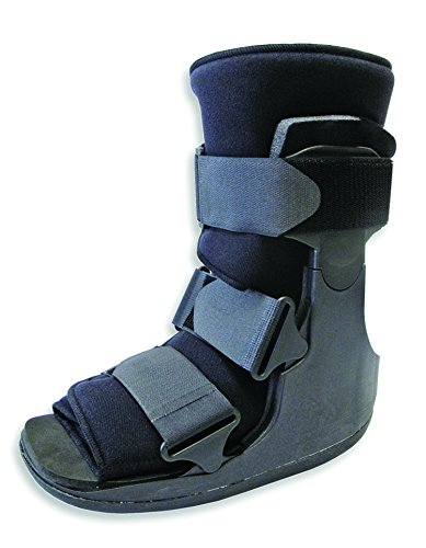 Short Fracture Walker Boot - Ideal for Stable Foot and Ankle Fracture, Achilles Tendon Surgery, Acute Ankle Sprains, Post Op Care (Medium (Shoe Size 6-9))