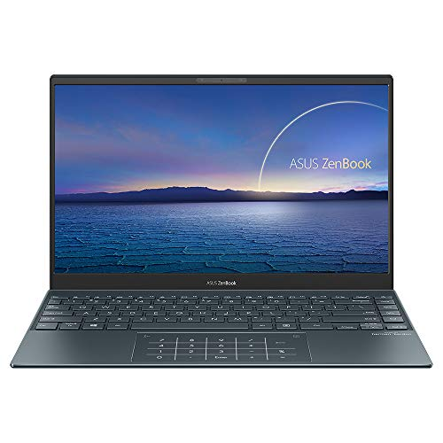 ASUS ZenBook UX325JA 13.3 inch Full HD Laptop (Intel i5-1035G1, 16GB RAM, 512GB PCIe SSD, 32GB Intel Optane Memory, Backlit Keyboard, Windows 10) Includes USB-C to Audio Jack Adapter & Carry Sleeve