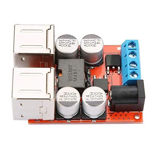 DC-DC Wandler Spannung Power Buck Modul Auto 12V 24V 8-35V bis 5V 8A 4 USB-Ladegerät