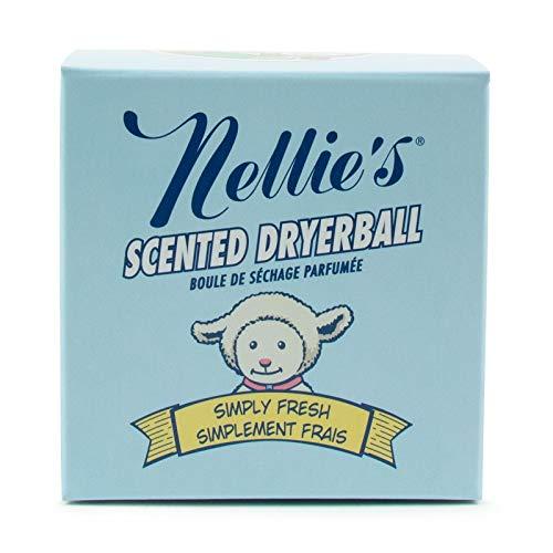 Nellie's All-Natural - Secador de lana con aroma natural para aproximadamente 50 secados