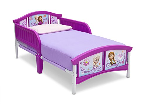 Disney Princess Plastic Toddler Bed by Delta Children Now $38.87 (Was $64.99)