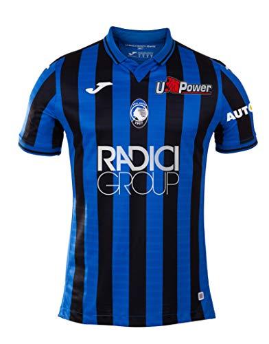 Atalanta B.C., Erstes Race Shirt 2019/2020, Mann, Schwarz / blau, 5XS