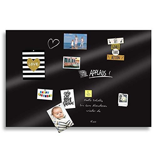 Premium-Tafelfolie 70x50cm Magnetfolie Selbstklebende und magnetische Tafel Folie Farbe: Schwarz