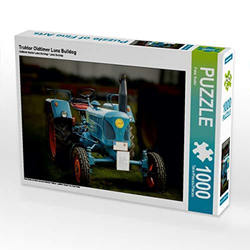 CALVENDO Puzzle Traktor Oldtimer Lanz Bulldog 1000 Teile Lege-Größe 64 x 48 cm Foto-Puzzle Bild von Peter Roder